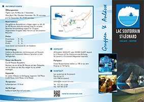 Lac souterrain de st l onard gruppentouristik com - Was ist souterrain ...